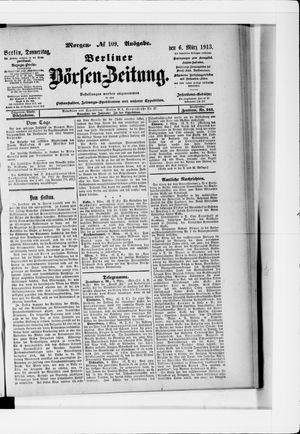 Berliner Börsen-Zeitung vom 06.03.1913