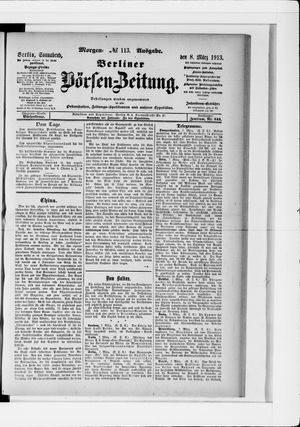 Berliner Börsen-Zeitung vom 08.03.1913