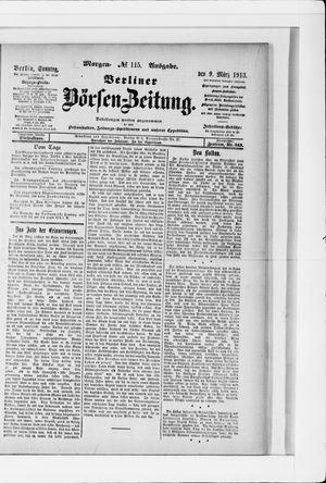 Berliner Börsen-Zeitung vom 09.03.1913