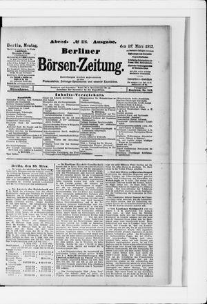 Berliner Börsen-Zeitung vom 10.03.1913