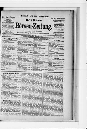 Berliner Börsen-Zeitung vom 17.03.1913