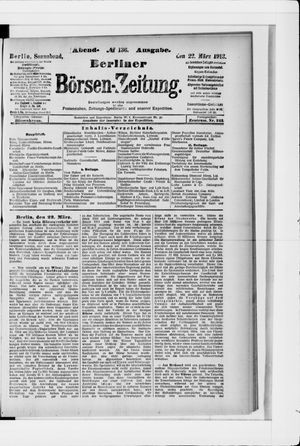 Berliner Börsen-Zeitung vom 22.03.1913