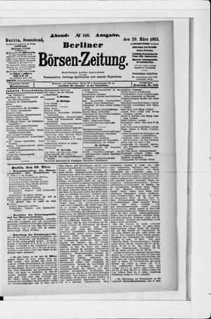 Berliner Börsen-Zeitung vom 29.03.1913