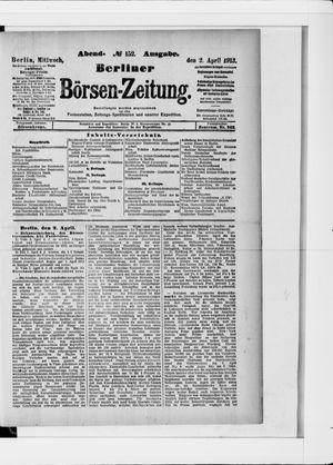 Berliner Börsen-Zeitung vom 02.04.1913
