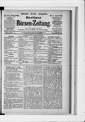 Berliner Börsen-Zeitung vom 03.04.1913