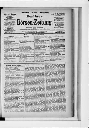 Berliner Börsen-Zeitung vom 07.04.1913