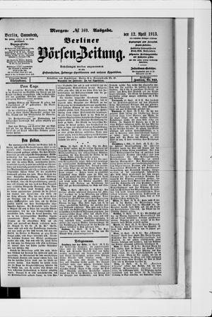 Berliner Börsen-Zeitung vom 12.04.1913