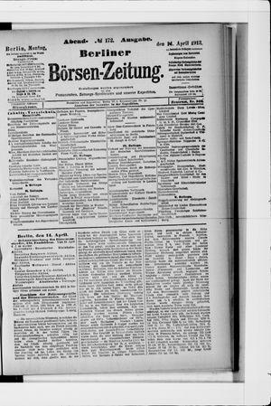 Berliner Börsen-Zeitung vom 14.04.1913
