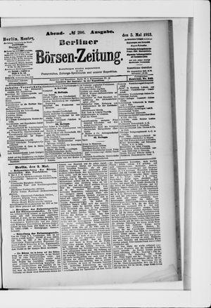 Berliner Börsen-Zeitung vom 05.05.1913