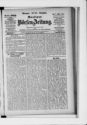 Berliner Börsen-Zeitung on May 7, 1913