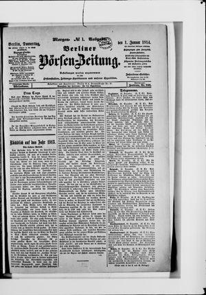 Berliner Börsen-Zeitung vom 01.01.1914