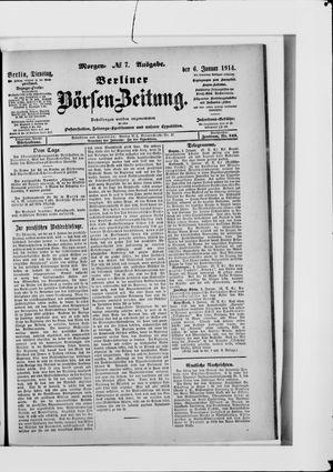 Berliner Börsen-Zeitung vom 06.01.1914