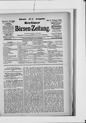 Berliner Börsen-Zeitung vom 06.02.1914