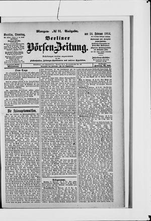 Berliner Börsen-Zeitung vom 24.02.1914