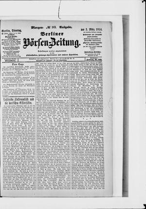 Berliner Börsen-Zeitung vom 03.03.1914