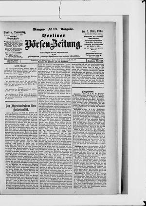 Berliner Börsen-Zeitung vom 05.03.1914