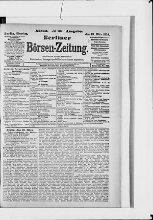 Berliner Börsen-Zeitung vom 10.03.1914