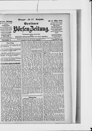 Berliner Börsen-Zeitung vom 11.03.1914