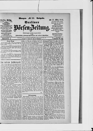 Berliner Börsen-Zeitung vom 13.03.1914