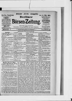Berliner Börsen-Zeitung vom 14.03.1914