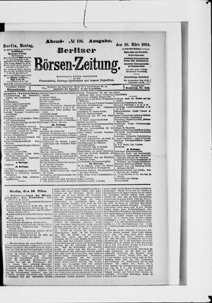 Berliner Börsen-Zeitung vom 16.03.1914