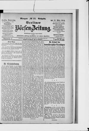 Berliner Börsen-Zeitung vom 19.03.1914