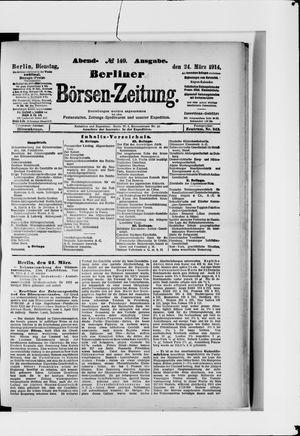 Berliner Börsen-Zeitung vom 24.03.1914