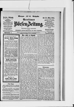 Berliner Börsen-Zeitung vom 25.03.1914