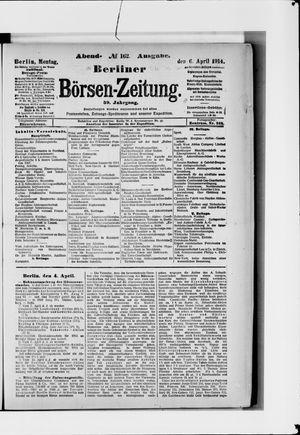 Berliner Börsen-Zeitung vom 06.04.1914