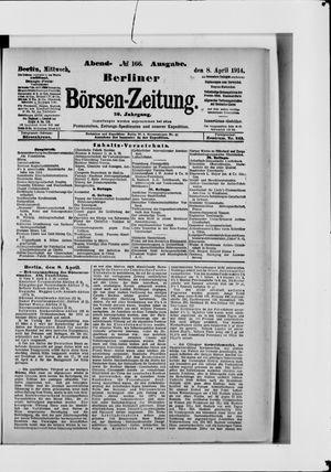 Berliner Börsen-Zeitung vom 08.04.1914
