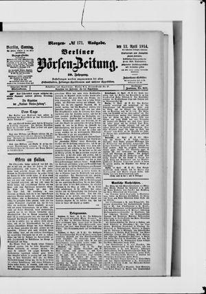 Berliner Börsen-Zeitung vom 12.04.1914