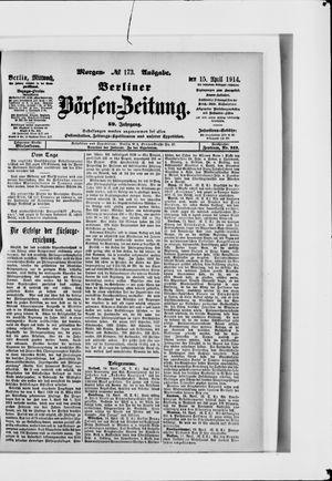 Berliner Börsen-Zeitung vom 15.04.1914