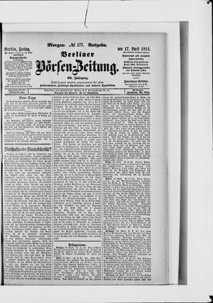 Berliner Börsen-Zeitung vom 17.04.1914