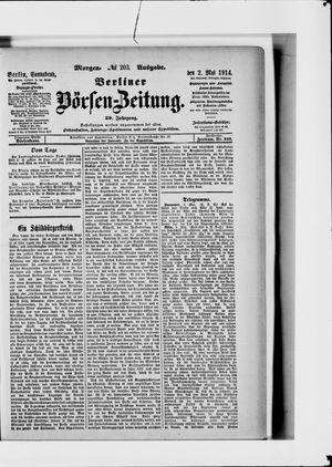 Berliner Börsen-Zeitung vom 02.05.1914