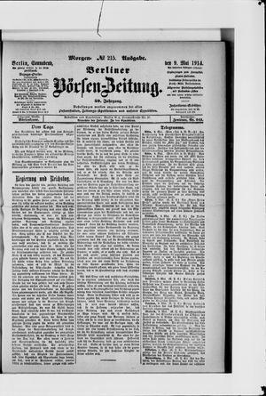 Berliner Börsen-Zeitung vom 09.05.1914