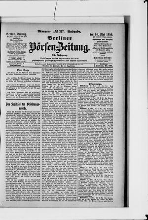 Berliner Börsen-Zeitung vom 10.05.1914