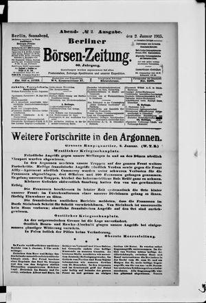 Berliner Börsen-Zeitung vom 02.01.1915
