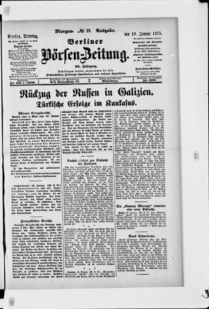 Berliner Börsen-Zeitung vom 19.01.1915