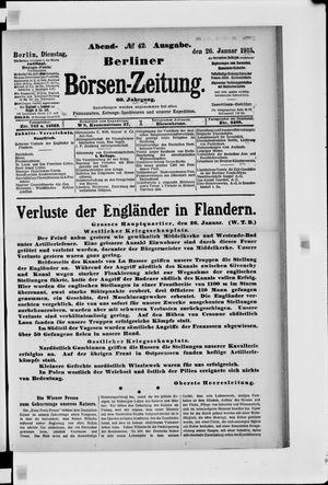 Berliner Börsen-Zeitung vom 26.01.1915