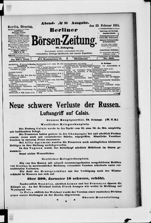 Berliner Börsen-Zeitung vom 23.02.1915