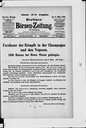 Berliner Börsen-Zeitung vom 08.03.1915