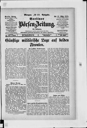 Berliner Börsen-Zeitung vom 12.03.1915