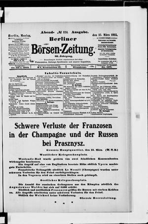 Berliner Börsen-Zeitung vom 15.03.1915