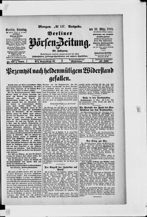 Berliner Börsen-Zeitung vom 23.03.1915