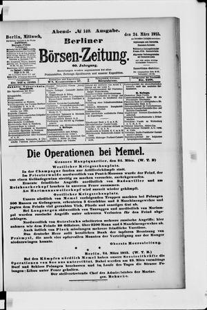 Berliner Börsen-Zeitung vom 24.03.1915