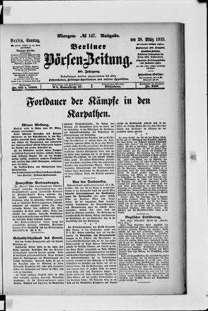 Berliner Börsen-Zeitung vom 28.03.1915