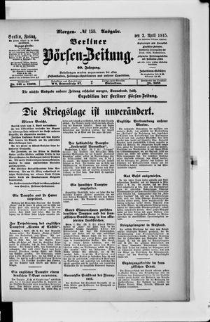 Berliner Börsen-Zeitung vom 02.04.1915