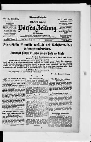 Berliner Börsen-Zeitung vom 03.04.1915