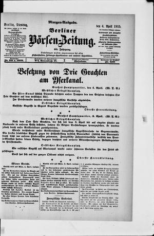 Berliner Börsen-Zeitung vom 06.04.1915