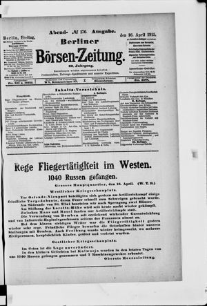 Berliner Börsen-Zeitung vom 16.04.1915